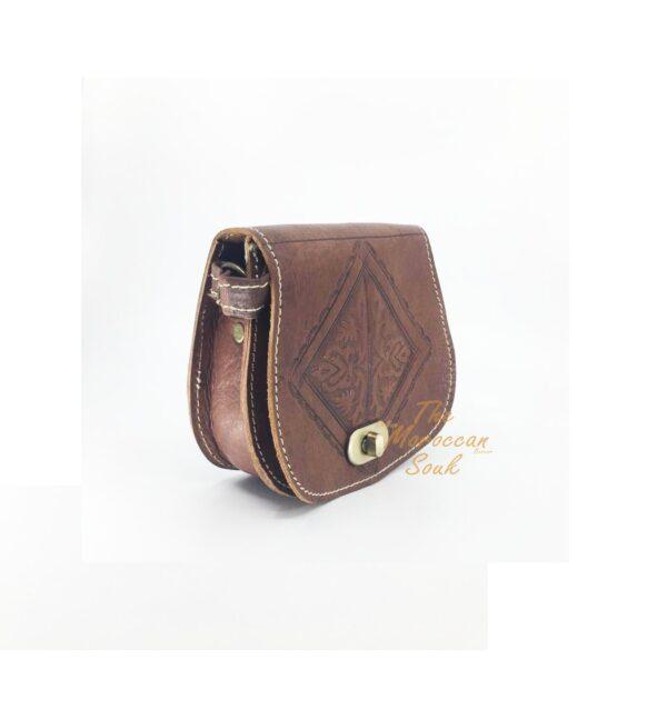 Mini Shoulder Bag with Leather Strap